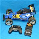 New Bright RC Radio Remote Control Blue X Power Baja Buggy Model Car Toy
